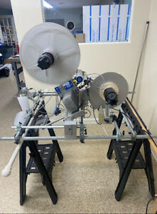 Herma H400 16r Label Applicator Machine Used With Manual