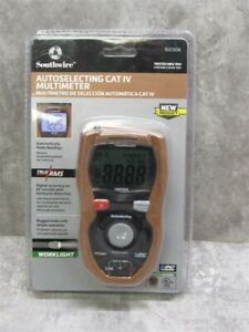 New Southwire Tools 16030a Auto selecting Cat Iv Multimeter