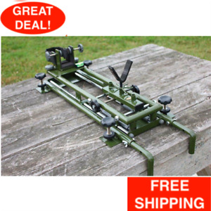 Precision Rifle Shooting and Sighting Bench Rest Dual Damper NOT FOR BEGINNERS $218.99