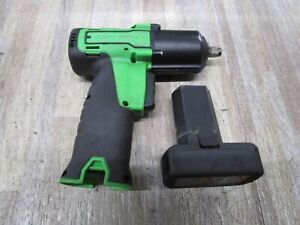 Snap On Ct761ag 3 8 Drive 14 4 V Impact Gun With Batteries Tested Nice