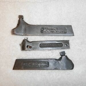 3 armstrong lathe tool Holders Bit No 00 s No 00l And Xxo r