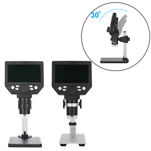 Digital Microscope 12mp Continuous Zooming For Soldering Cellphone Repair