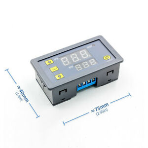 Digital Cycle Timer Delay Relay Board Module Led Display Timing Relay Switch Udc