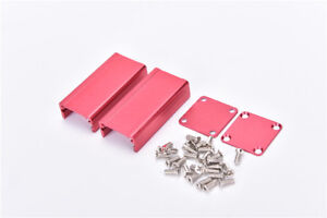 Extruded Aluminum Box Red Enclosure Electronic Project Case Pcb Diy 50 2gkwixidc