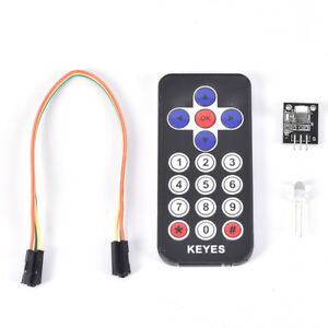 1pc Portable Infrared Ir Wireless Remote Control Module Kits For Arduino Dc