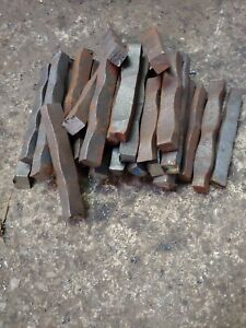 Hardy Tool A36 Blacksmith Anvil Forging Steel Hammered Metals Sq Bar Stock 1 2