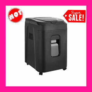 Heavy Duty Paper Shredder 150 Sheet Auto Feed Micro Cut Security Quiet Mode