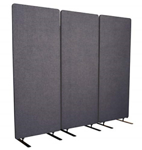 Stand Up Desk Store Refocus Freestanding Noise Reducing Acoustic Room Wall Steel