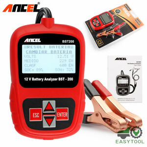 Automative Car Battery Load Tester 12v Digital Vehicle 2000cca Bad Cell Analyzer
