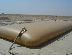 50 000 Gallon Collapsible Fuel water Tank Used Condition
