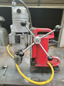 Milwaukee Mag Magnetic Drill Press 4202 Base With 4292 1 Motor 1 1 4 Capacity