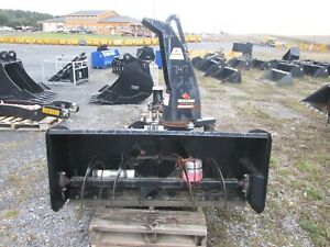 Used 61 Erskine Snow Blower 3pt Hitch