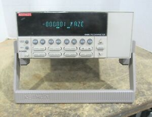 Keithley Model 6485 Picoammeter Dc Current Test Measurer Power Tested Only