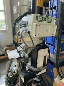Kondia Style Milling Machine Head Vs R8 3hp 230v 460v With Quill Mounting