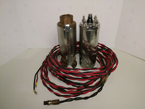 Goulds 10ej05 2 Wire 1 2 Hp 230v 4 Submersible Water Well Pump With Motor