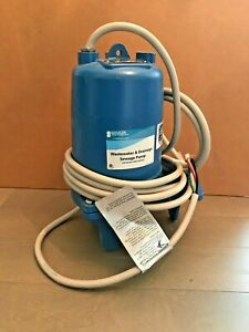 Goulds Water Technology Ws1032bhf Sewage Ejector Pump 1 Hp