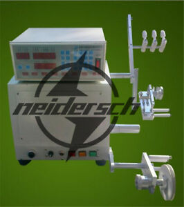 New For 0 03 1 2mm Wire Computer Cnc Automatic Coil Winder Winding Machine 220v