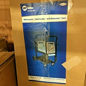 Miller 301239 Millermatic Multimatic And Diversion Cart