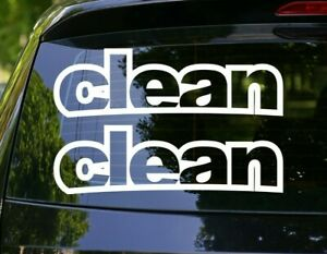 Simply Clean 5 X 15 X2 Jdm Love Decal Sticker Many Colors Many Sizes 001