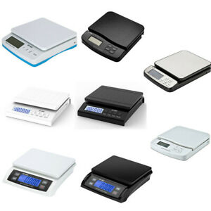 Portable Electric Digital Shipping Postal Scales Weight Ups Fedex W Adapter