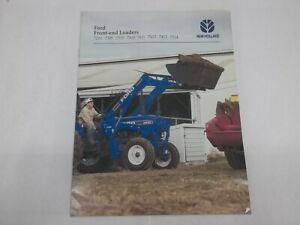Ford New Holland Front end Loaders 7210 7309 7310 7410 7411 7413 7514 Brochure