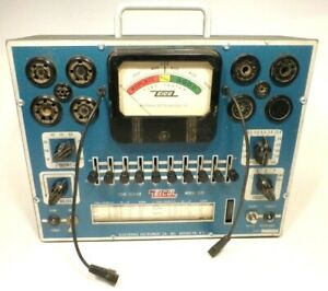 Eico 625 Tube Tester Works Great Good Rolling Chart Nice Condition