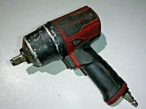 Snap On Tools Pt850 1 2 Drive Air Impact Wrench Needs Air Inlet Valve Replaced