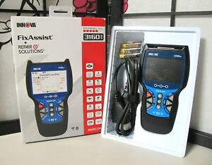 Innova 3160rs Fixassist Code Reader Scan Tool With Abs And Srs For Obd2 Vehicles