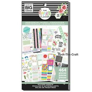 Happy Planner Stickers Book Horizontal Layout 464