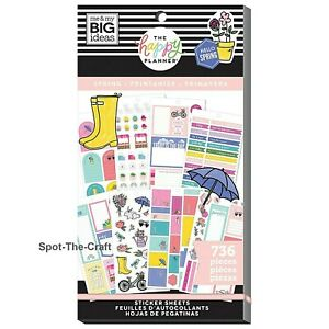 Happy Planner Stickers Book Spring 736
