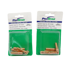 2 Packs Of 5 10 Prostar Praxair Prst 062 5 Contact Tip For Welding