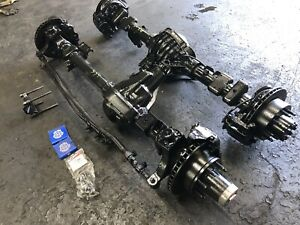 Pair Ford Dana 60 Front Axle King Pin Gm Corporate 14 Bolt Rear F350 Jeep Swap
