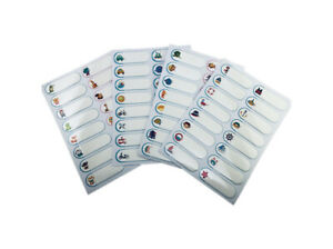 Self laminating Waterproof Name Labels For Baby Food bottles daycare pack Of 64