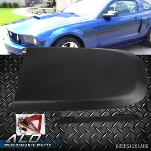 Black Front Racing Style Air Vent Hood Scoop Fit For Ford Mustang Gt V8 2005 09 Fits 2005 Ford Mustang