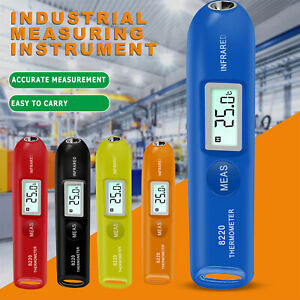 Portable Mini Pen Type Industrial Digital Non contact Infrared Thermometer Meter