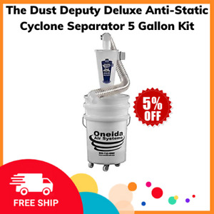 The Dust Deputy Deluxe Anti static Cyclone Separator 5 Gallon Kit
