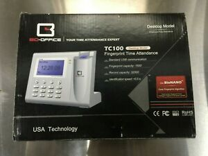 Bio office Tc100 Biometric Finger Scanning Time in Clock For Work office