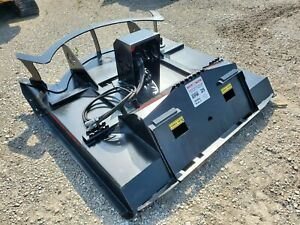 New 72 Inch Rotary Mower Brush Hog Cutter Skid Steer Loader Attachment