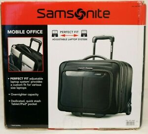 new Samsonite Mobile Office Wheeled Briefcase