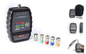 4 Port Coax Cable Mapper Tester Tracer And Toner Commercial Grade Coaxial