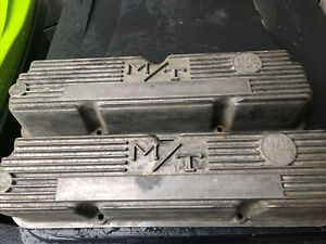 Vintage M T Mickey Thompson Ford Mercury 427 H P Valve Covers Ford Fe 3923800