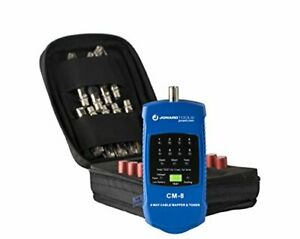 Jonard Tools Cm 17 Coax And Lan Cable Mapper 8 Way And Toner Kit For Testing