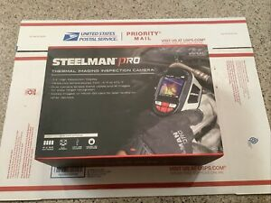 Steelman Pro Sti 240 Thermal Imager Camera 2 4 Color Lcd 9hz With Case And Box