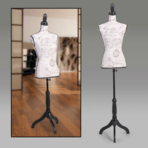 Female Mannequin Torso Dress Form Clothing Display Rack W tripod Stand 66 High