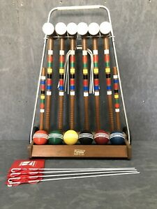 Vintage Forster Croquet Set 6 Player Great Condition $199.99