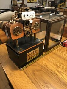Thomson Watthour Meter By General Electric 4849096 Antique Schenectady New York