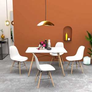 Cozycasa Dining Room Table Modern Kitchen Table Mid Century Dining Table For Sma