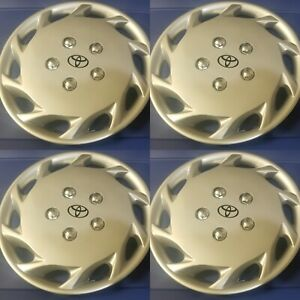 1997 1998 1999 Toyota Camry Style 877 14s 14 Hubcaps Wheel Covers New Set 4