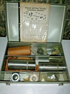 Utica Tool Co Miller Special Tools C 758 44 60 Axle Pinion Setting Gauge Set