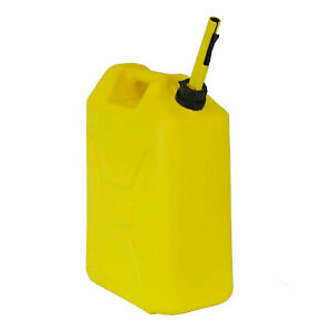 Scepter Fg4rvd5 5 3 Gallon Rv Diesel Military Style Jerry Gasoline Can Yellow
